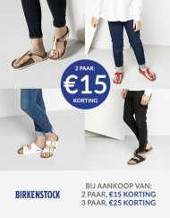 Birkenstock Aanbieding 2017. Nieuwste modellen mét korting.